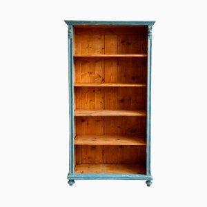 Tall Antique Art Nouveau Bookshelf