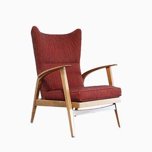 Sedia alata reclinabile di Knoll Antimott, 1965