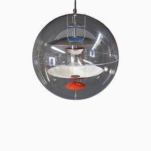 Lámpara esférica danesa de Verner Panton para VerPan, 1969