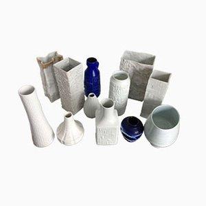 Deutsches Keramik Set, 1970s, Set of 12
