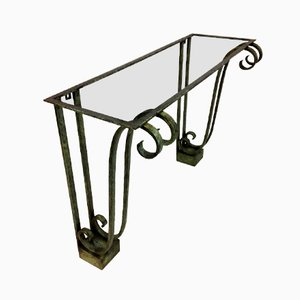 French Wrought Iron Console