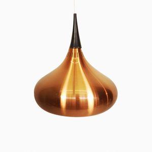 Lampada a sospensione Orient in alluminio anodizzato di Jo Hammerborg per Fog & Mørup