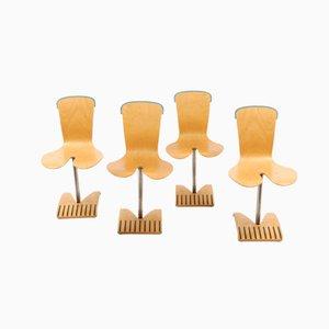 Chaises de Salon Vintage par Ruud Jan Kokke pour Proviciehuis Groningen, Set de 4