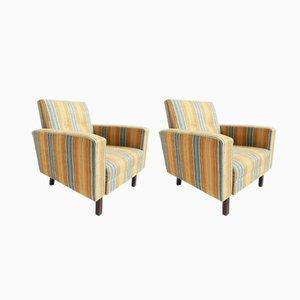 Amerikanische Lehnstühle, 1950er, 2er Set