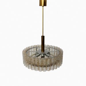 German Chandelier from Doria Leuchten, 1960s