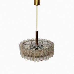 Lámpara de araña alemana de Doria, años 60