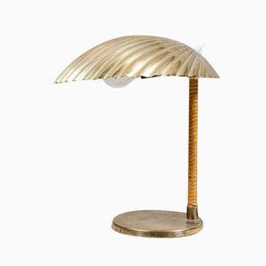 Tischlampe mit Muscheloptik von Paavo Tynell für Taito Oy