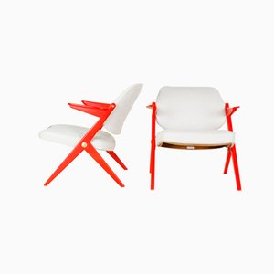 Triva Armchairs by Bengt Ruda for Nordiska Kompaniet, Set of 2