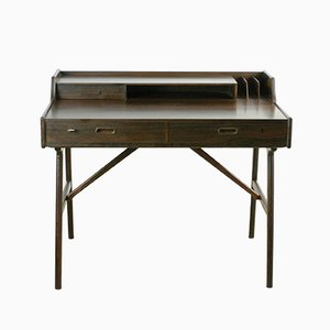 No. 56 Rosewood Desk by Arne Wahl Iversen for Vinde Møbelfabrik, 1960s
