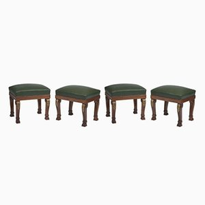 Banquettes Style Will IV, Angleterre, 1950s, Set de 4