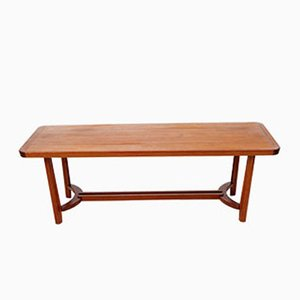 Table Basse Mid-Century Scandinave en Teck