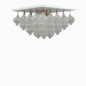 Pyramide 40 Crystal Glass Ceiling Light by J.T. Kalmar for Kalmar, 1960s