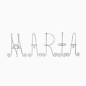 Niederländischer MARIA Buchstabenset aus einer Kirche