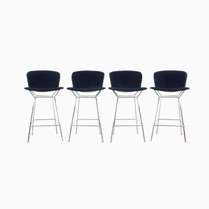 Tabourets de Bar Diamond par Harry Bertoia pour Knoll, 1952, Set de 4