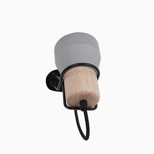 Cement Wood Wandlampe von Decha Archjananun