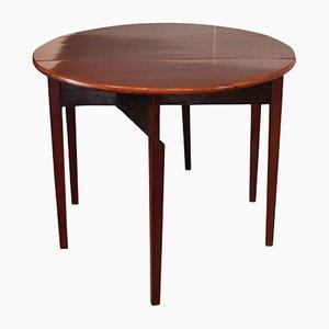 Table Empire Pliante en Acajou, Danemark, 1830s