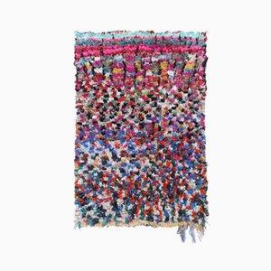 Tapis Boucherouite Vintage Multicolore