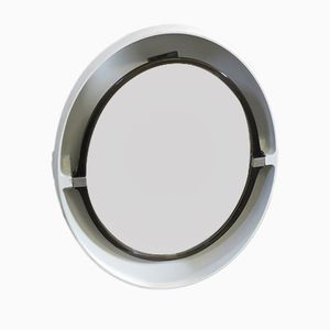 Oval Wall Mirror from Allibert, 1970s