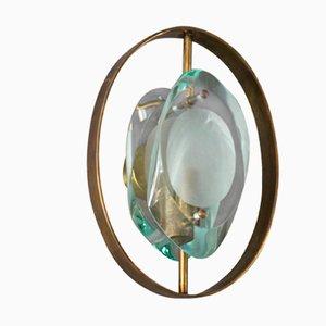 Italienische Modell 2240 Micro Wandlampen von Max Ingrand für Fontana Arte, 1960er, 2er Set