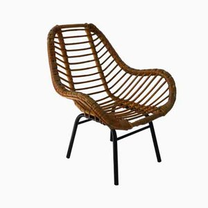Children's Rattan Chair, 1960s