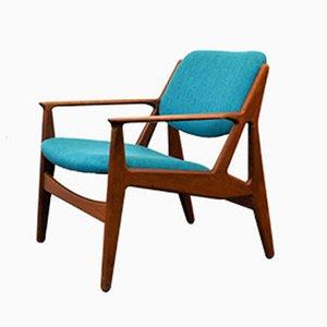 Dänischer Teak Lounge Stuhl von Arne Vodder für Vamo, 1960er