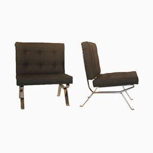 Dione Lounge Chairs by Gastone Rinaldi for Rima, 1957, Set of 2