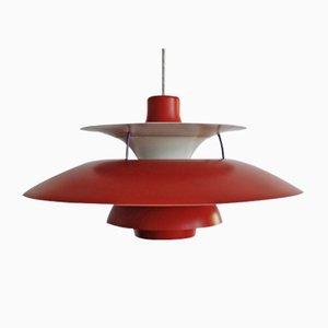 Lampe à Suspension, Modèle PH5, par Poul Henningsen pour Louis Poulsen, Danemark, 1960s