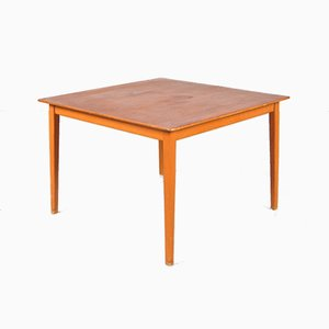 Swedish Teak & Birch Coffee Table by Alf Svensson for Tingströms, 1950s