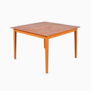 Table Basse en Teck et Bouleau par Alf Svensson pour Tingströms, Suède, 1950s