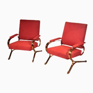 Italian Armchairs by Gianni Moscatelli for Formonova, 1970, Set of 2