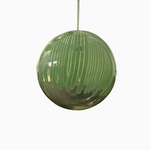 Green Pendant by Ludovico Diaz de Santillana for Venini, 1965