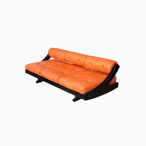 GS195 Orange Daybed by Gianni Songia for Sormani, 1968