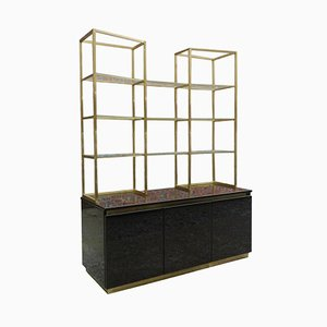 French Bookcase by Guy Lefevre for Maison Jansen, 1970s