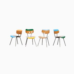 Ray, Charles, Emma and Peal Chairs by Markus Friedrich Staab, Set of 4