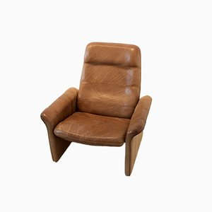 DS-50 Brown Buffalo Leather Armchair from De Sede, 1960s