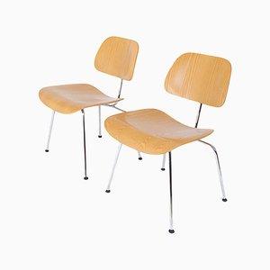 DCM Stühle von Charles & Ray Eames für Vitra, 2er Set