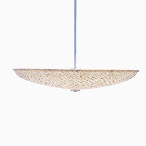 Grande Lampe à Suspension en Fibre de Verre par Louis Kalff pour Philips