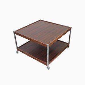 Vintage Side Table on Castors