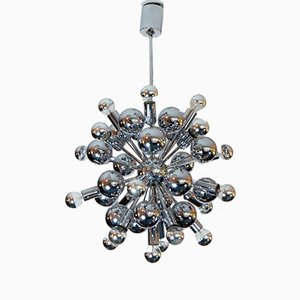 Vintage Sputnik Chandelier with 21 Lights