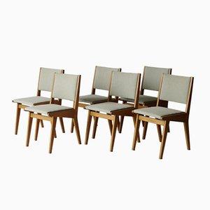 Chaises de Salon 666 USP par Jens Risom pour Knoll, Etats-Unis, 1950s, Set de 6