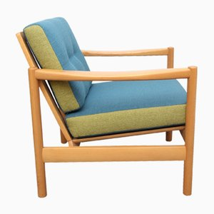 Blue and Apple Green Armchair, 1960s