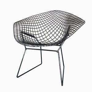 Silla Diamond de Harry Bertoia para Knoll International, años 50