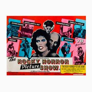 Affiche de Film Vintage The Rocky Horror Show par John Pasche, Royaume-Uni, 1975