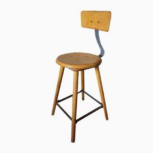 Chaise d'Atelier Industrielle, Allemagne, 1950s