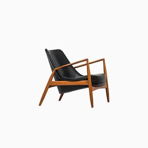 Seal Easy Chair by Ib Kofod-Larsen for OPE, 1950s