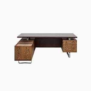 Wenge Desk by Jørgen Pedersen for E. Pedersen & Søn, 1960s