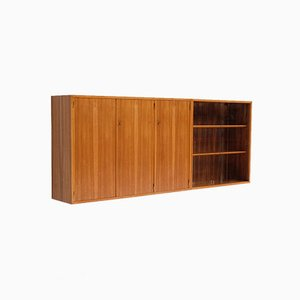 Belgian Wall Hung Office Cabinet by Jos de Mey for Van den Berghe Pauvers, 1960s