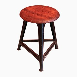 German Industrial Stool, 1940s