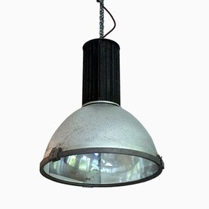 Vintage Industrial Pendant Lamp from AEG