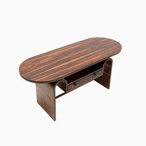 Tavolo in ebano macassar di Arnold Bueno de Mesquita per Metz & Co